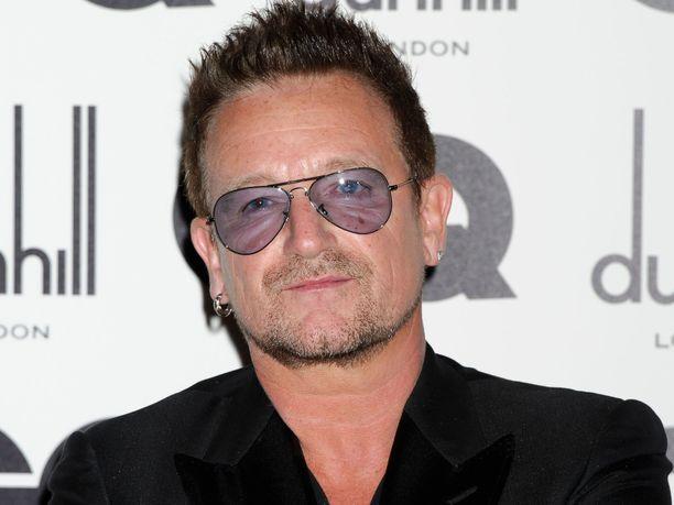 Bono pyrkii auttamaan kotimaataan koronataistelussa.