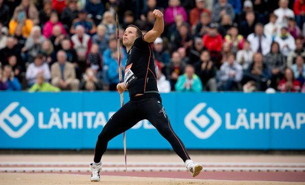 Tero Pitkämäki vahvisti jatkavansa uraansa Rioon saakka.
