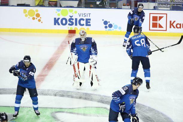 Suomen joukkue ei nauti IIHF:n piirissä suurta kunnioitusta.