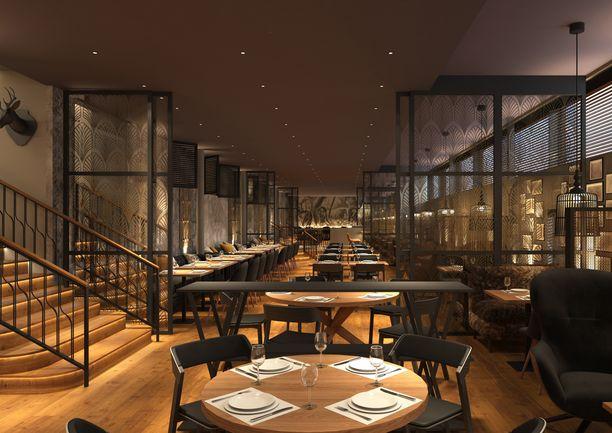 Seurahuoneen uudessa ravintolassa suositaan lähituottajien raaka-aineita.