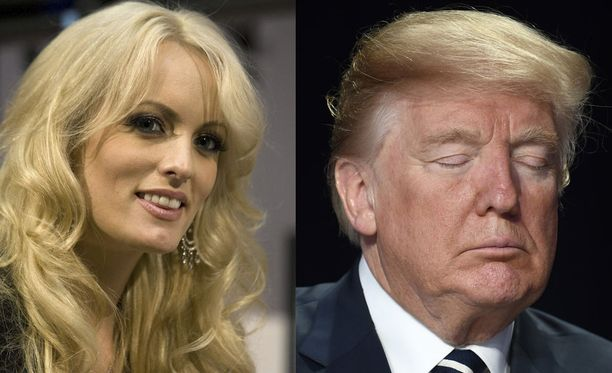 Stormy Daniels väittää, että hänellä ja Donald Trumpilla oli suhde vuosina 2006-2007.