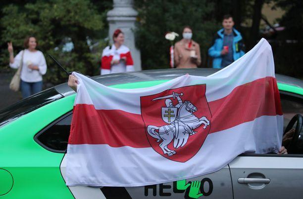 Mielenosoitukset jatkuivat perjantaina Valko-Venäjällä.