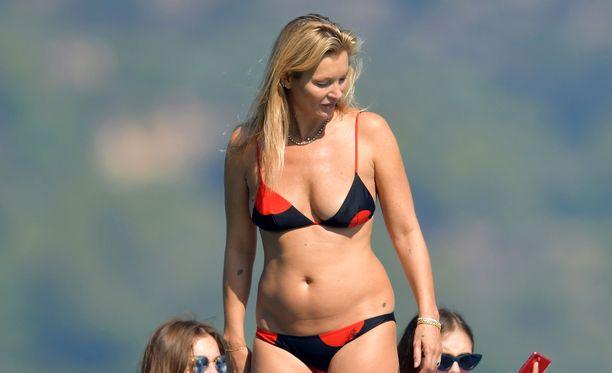 Kate Moss aloitti mallin uransa jo teini-ikäisenä.