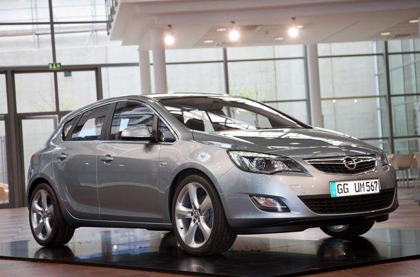 Opel Astran vikaprosentit olivat kohtuutasolla.