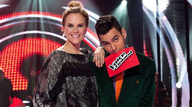 Kristiina Komulaisen ja Axl Smithin juontama Voice of Finland -kausi päättyi komeisiin katsojalukuihin.