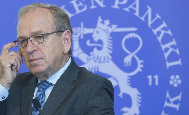 Erkki Liikanen toimi 14 vuoden ajan Suomen Pankin pääjohtajana.