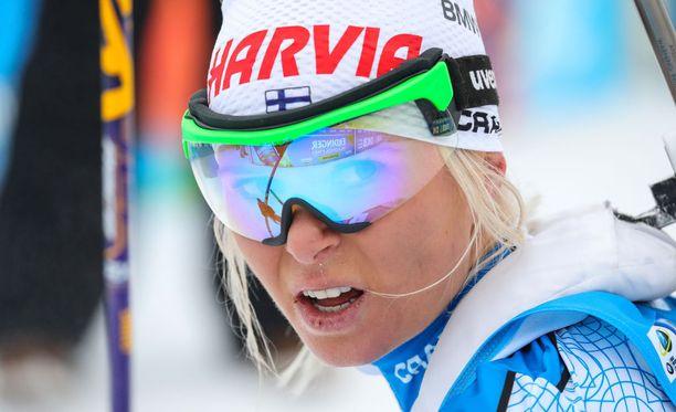 Mari Laukkasen tilanne kolme viikkoa ennen olympiakisojen alkua on erittäin huolestuttava.