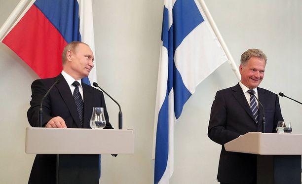 Vladimir Putin vieraili Suomessa viime kesänä Punkaharjulla.
