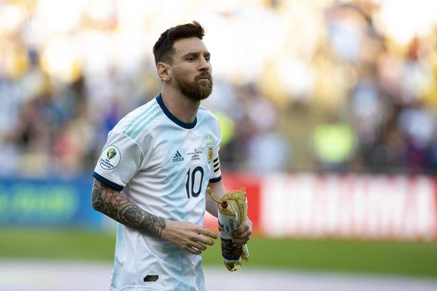 Lionel Messin Argentiina on selvä altavastaaja Copa American välierässä Brasiliaa vastaan.