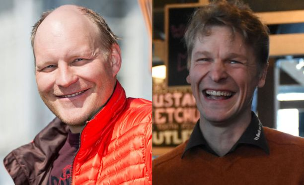Kalle Palander ja Toni Nieminen