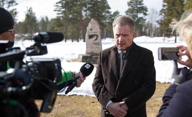Presidentti Sauli Niinistö tähdensi, ettei Venäjä harjoita Suomen suhteen sanelupolitiikkaa.