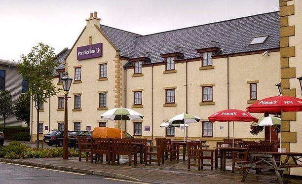 Tapaus sattui Edinburghissa Skotlannissa Premier Inn-ketjun hotellissa.