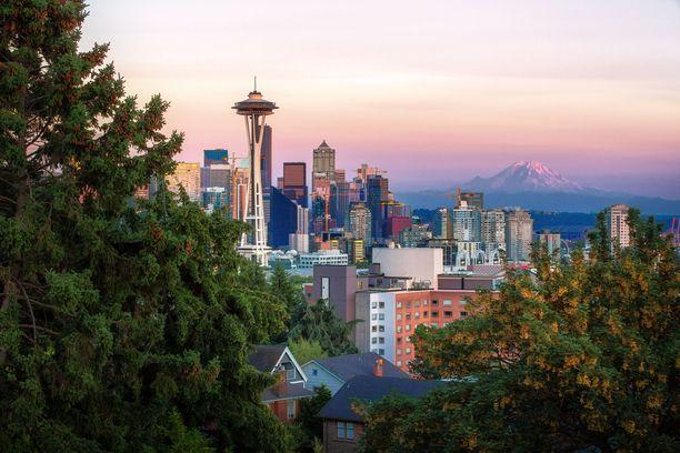 Space Needle -torni on Seattlen symboli.
