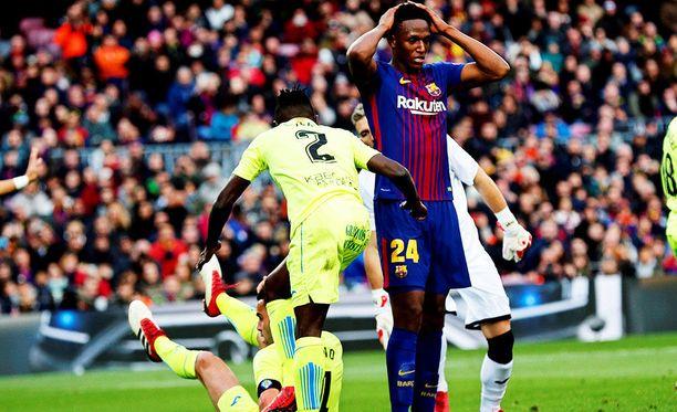 Barcelona jäi nollille.