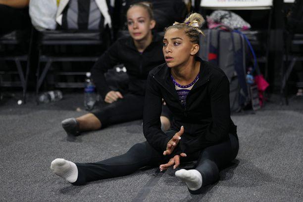 20-vuotias Ashton Locklear tavoittelee USA:n maajoukkueessa vuoden 2020 olympiapaikkaa.