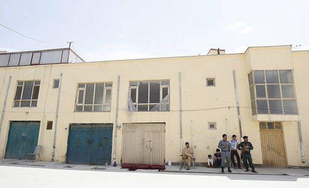 Suomalainen avustustyöntekijä siepattiin tästä majatalosta Kabulin Ayoub Khan Menan alueella.