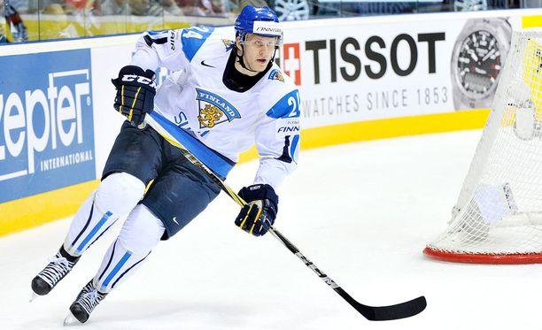Jani Lajunen voitti Leijonissa MM-kultaa vuonna 2011.