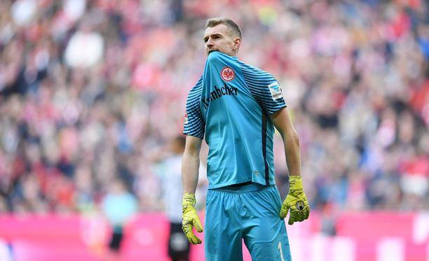 Lukas Hradecky tietää, että Allianz-areena on paha paikka.