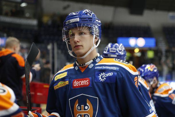 Patrik Puistola on nostettu NHL-draftin mustaksi hevoseksi The Athleticin listalla.