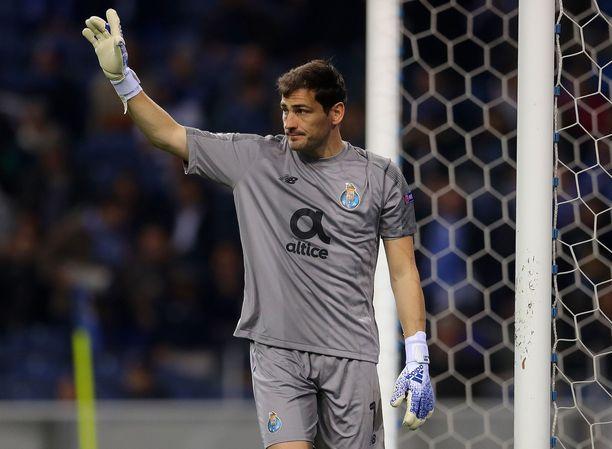 Iker Casillasin seura ei ole kommentoinut vielä maalivahdin sydänvaivoja.