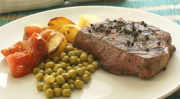 Muun muassa liha, kala, maitotuotteet ja kasviksista herneet sekä pavut sisältävät proteiinia.