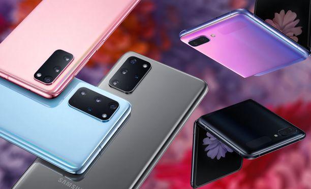 Samsung esitteli tapahtumassaan uudet puhelimensa.