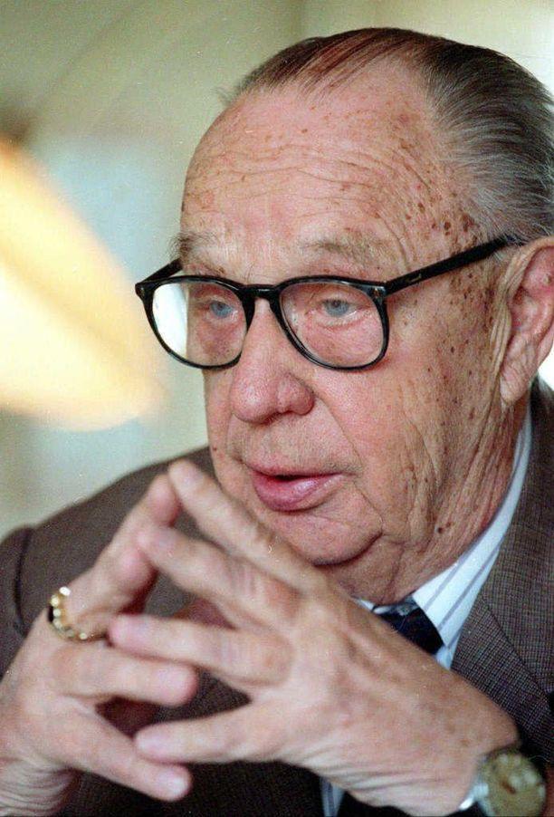 Veikko Vennamo oli Timo Soinin oppi-isä ja poliittinen idoli.