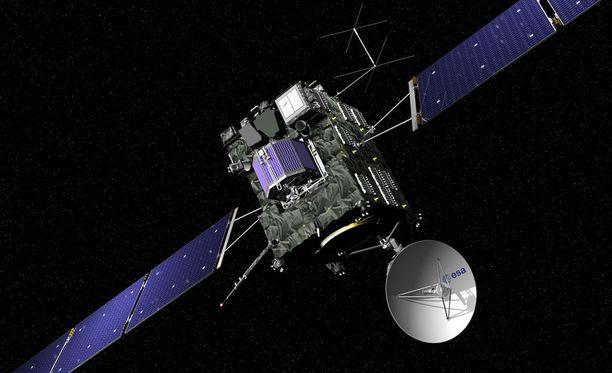 Rosetta-luotain iskeytyy komeettaan noin puoliltapäivin Suomen aikaa.