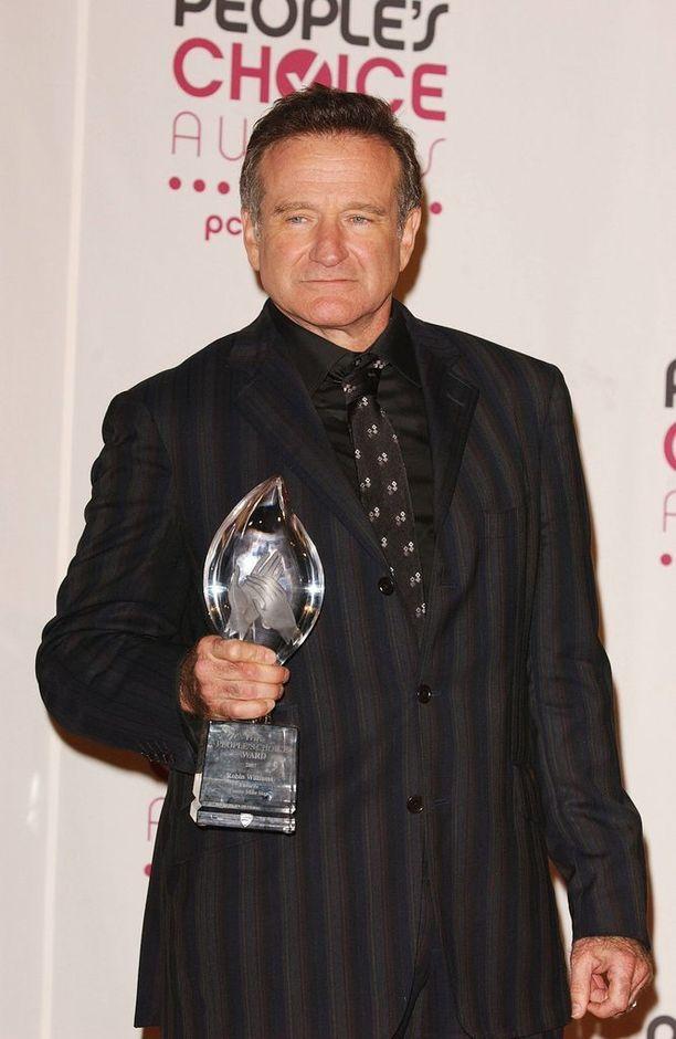 Robin Williams People's Choice -gaalassa Los Angeleissa tammikuussa 2007.