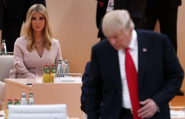 Yhdysvaltojen presidentin tytär ja neuvonantaja Ivanka Trump otti osaa G20-huippukokoukseen viime viikolla.
