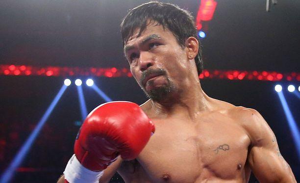 Manny Pacquiao piti itseään voittajana.