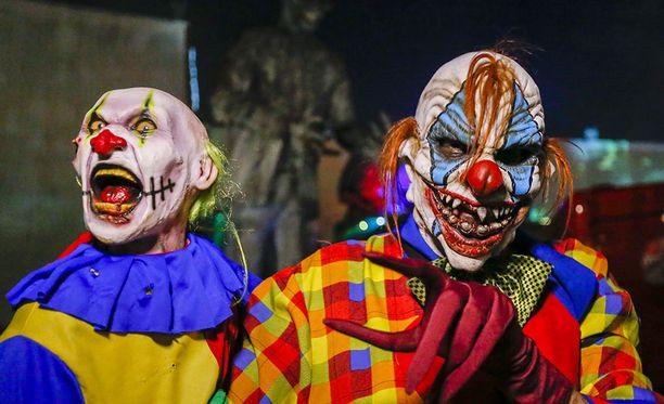 Niin kutsuttu creepy clown -ilmiö on levinnyt nopeasti Yhdysvalloista ympäri maailmaa.