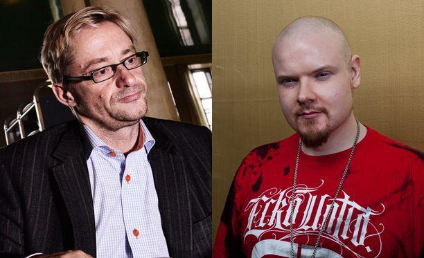 Mikael Jungner ja Iso H käyvät tiukkaa sananvaihtoa Twitterissä.