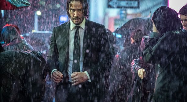 Keanu Reeves elokuvassa John Wick: Chapter 3 - Parabellum.