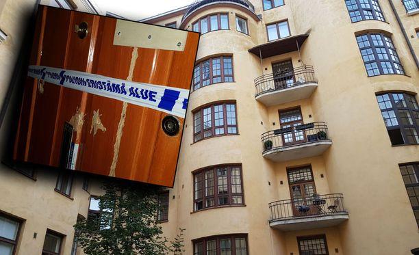 Poliisin etsimä mies löytyi kuolleena asunnostaan Kasarmikadulla.