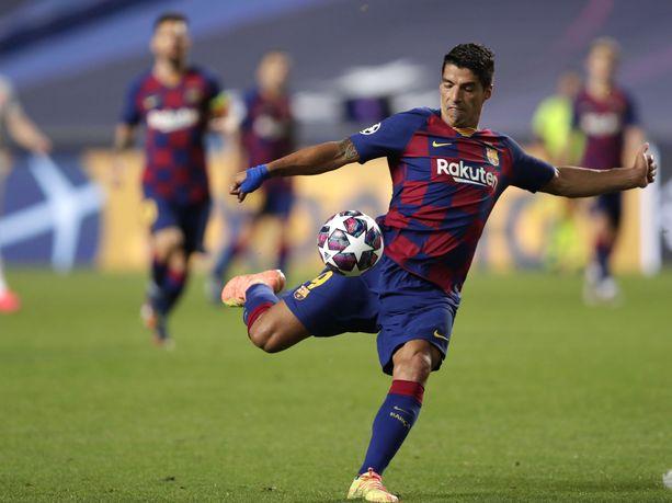 Luis Suárez on pommittanut Barcelonalle kuuden vuoden aikana peräti 147 liigamaalia.