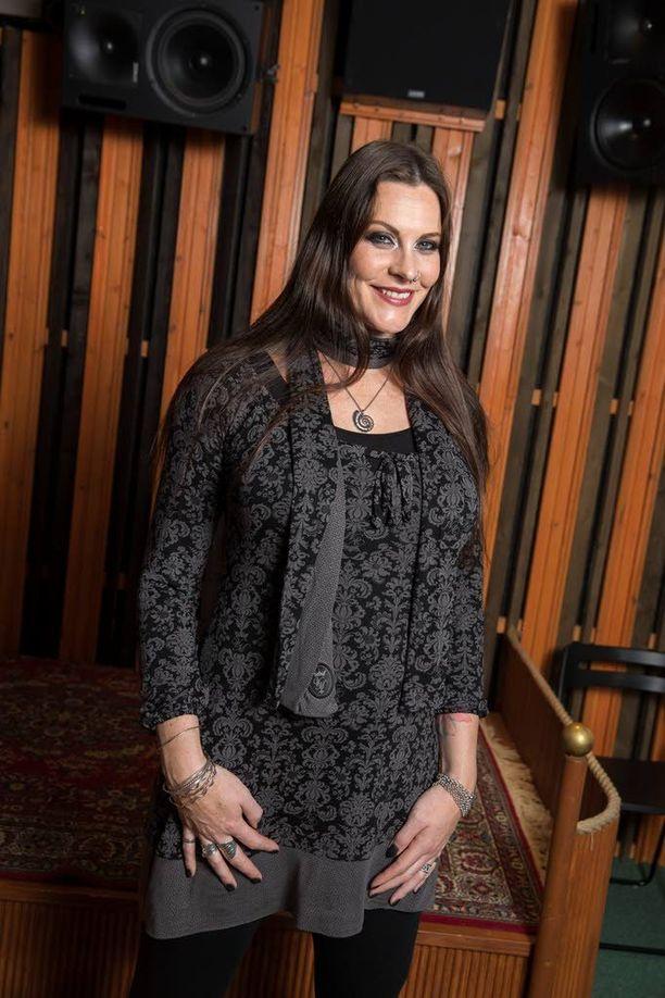 Floor Jansen liittyi Nightwishiin neljä vuotta sitten.