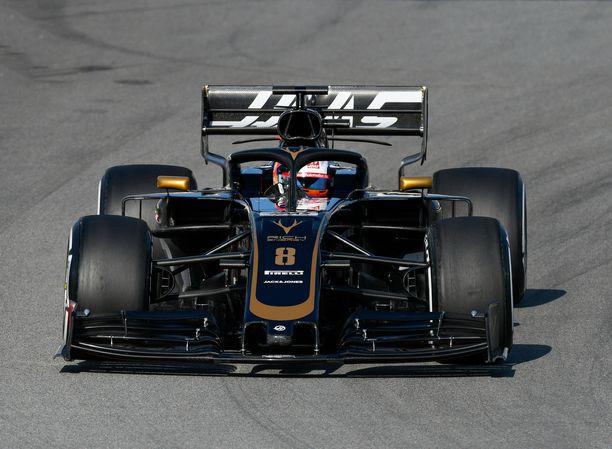 Romain Grosjean diskattiin Monacon GP:n ensimmäisissä harjoituksissa.
