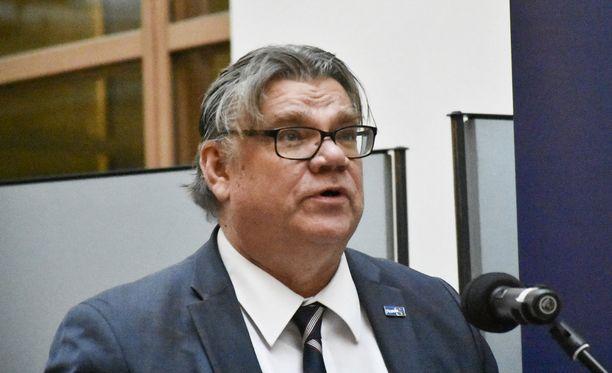 Timo Soinia ei nähty torstain kyselytunnilla.