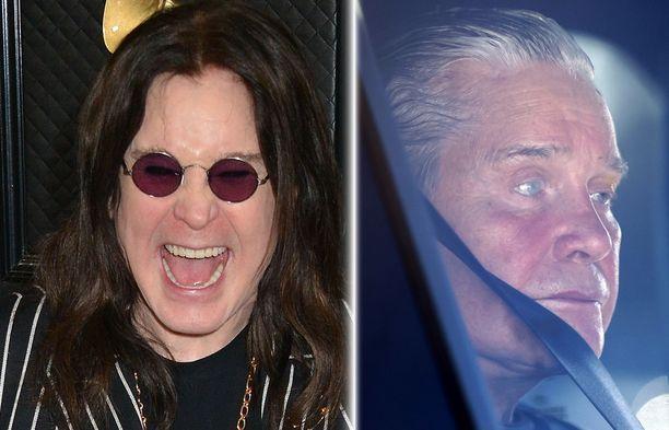 Vielä tammikuussa Ozzy Osbourne oli elementissään punaisella matolla. Tuoreet kuvat paljastavat, että mies on kuin varjo entisestään.