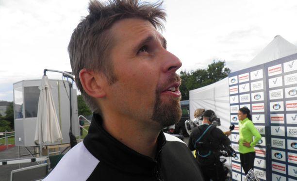 Antti Ruuskanen heitti Joensuussa kauden parhaansa.