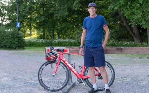 Suomen tunnettu tv-ääni on huimassa kunnossa: Peter Selin, 67, pyöräilee lähes 20000 kilometriä vuodessa – tämä kesä on legendalle poikkeuksellinen