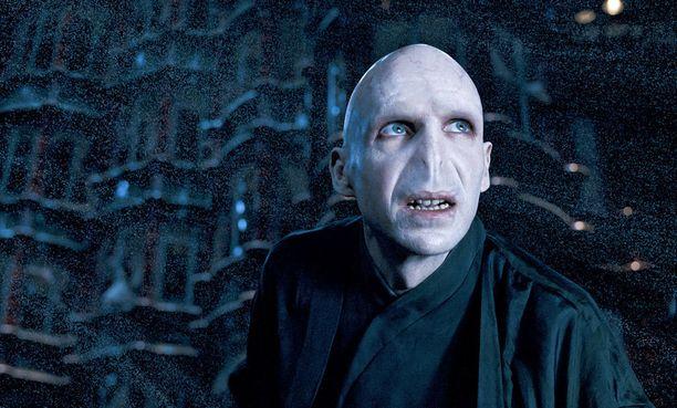 Fiennes on näytellyt julmaa Lordi Voldemortia Harry Potter-elokuvasarjassa.
