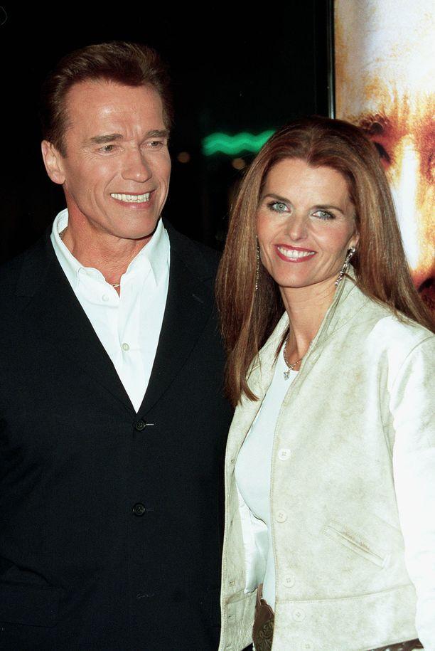 Tältä Maria ja Arnold näyttivät vuonna 2002.