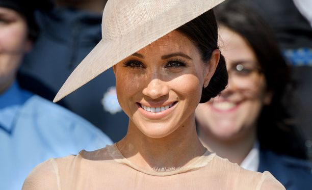 Herttuatar Meghan omaksui arvolleen sopivan tyylin nopeasti.