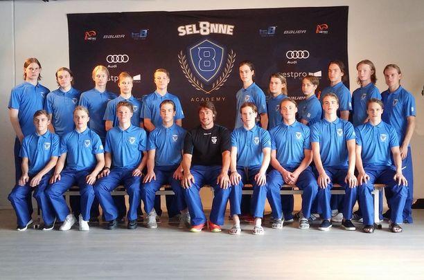 Selänteen maalintekoakatemian oppilaina ovat tällä viikolla olleet vuonna 2002 syntyneet U16-maajoukkueen hyökkääjät.