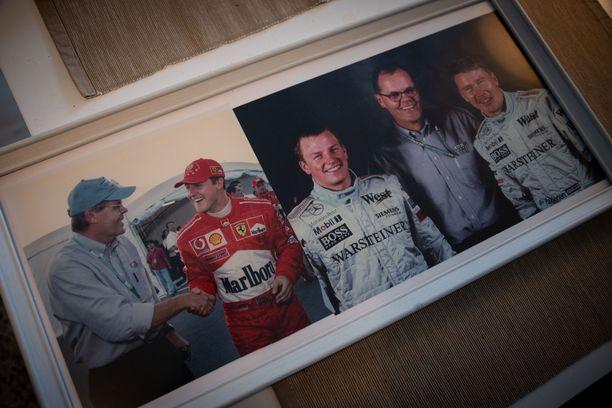Erkki Mustakari esitteli Iltalehdelle kaksi upeaa F1-valokuvaa.