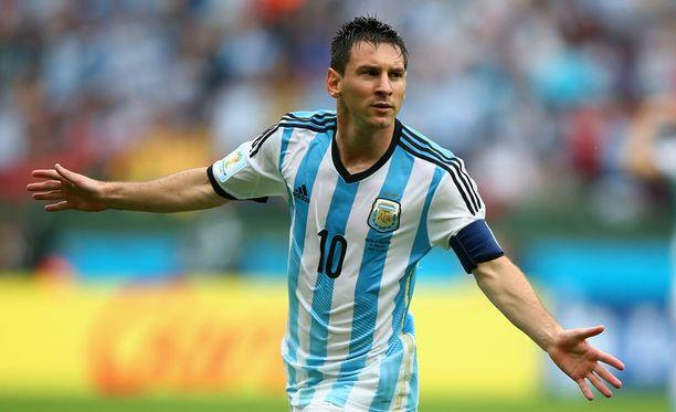 Lionel Messin Argentiina kohtaa Sveitsin.