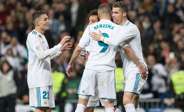 Real Madrid ei antanut Gironan yllättää toista kertaa tällä kaudella.