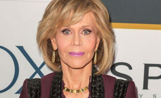 Jane Fonda on palkittu kahdesti Oscar-palkinnolla.